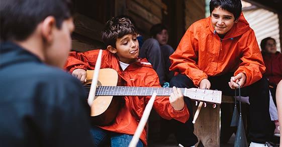 campamento musical en Burgos